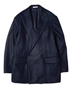 18AW / AURALEE men オーラリー / LIGHT MELTON DOUBLE-BREASTED JACKET メルトンジャケット